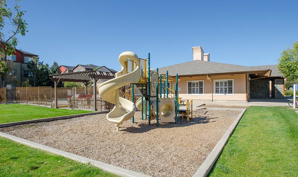 Playground at apartments in Denver