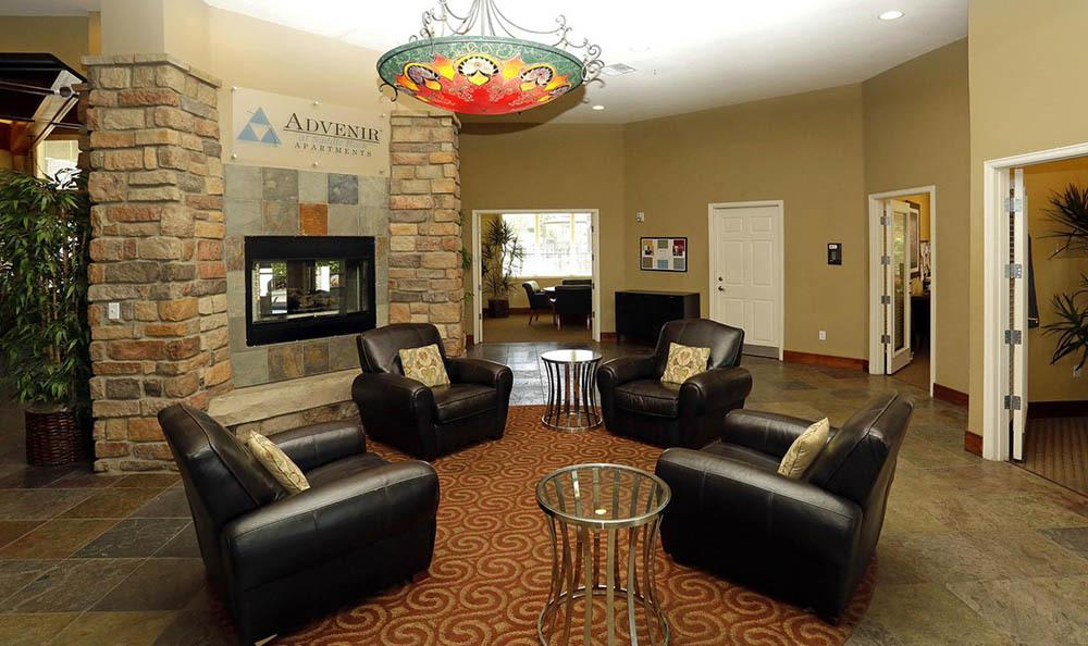 Clubhouse at apartments in Aurora