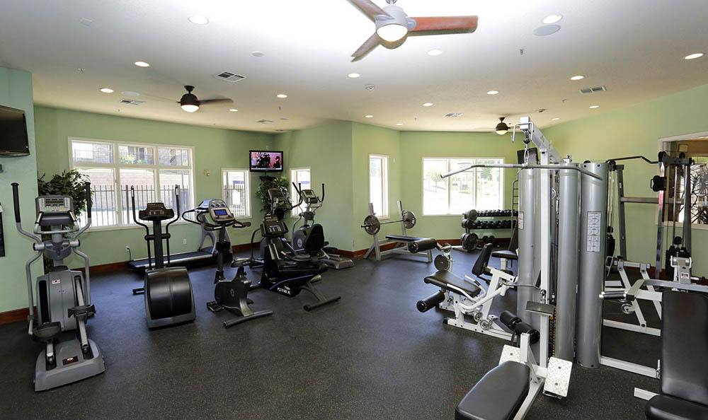 Fitness center at Advenir at Saddle Rock