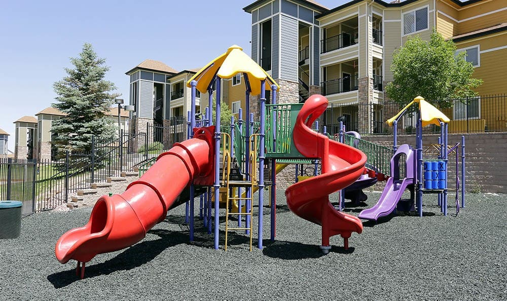 Playground at apartments in Aurora