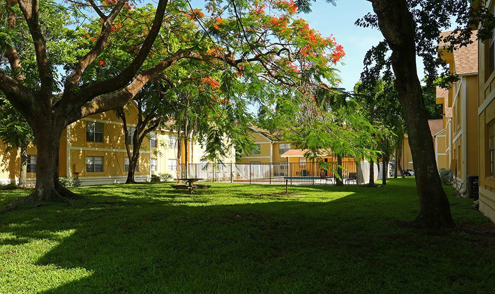 The grounds at Advenir at San Tropez