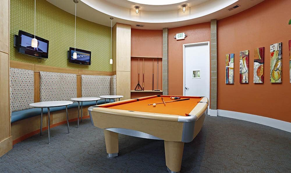Billiards at apartments in CO