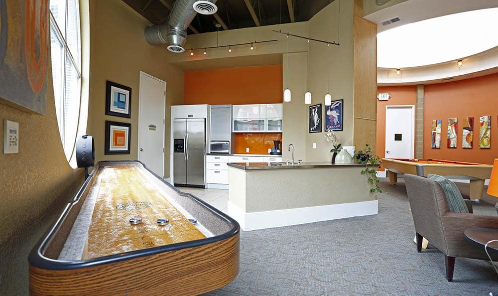 Clubhouse at apartments in Denver