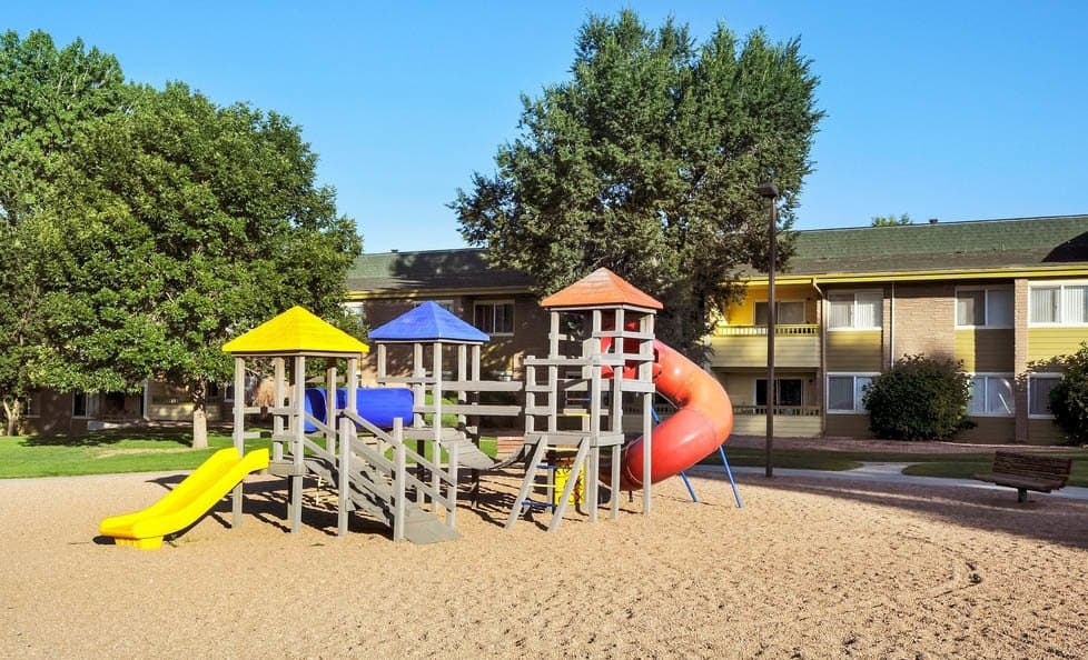 Playground at apartments in CO