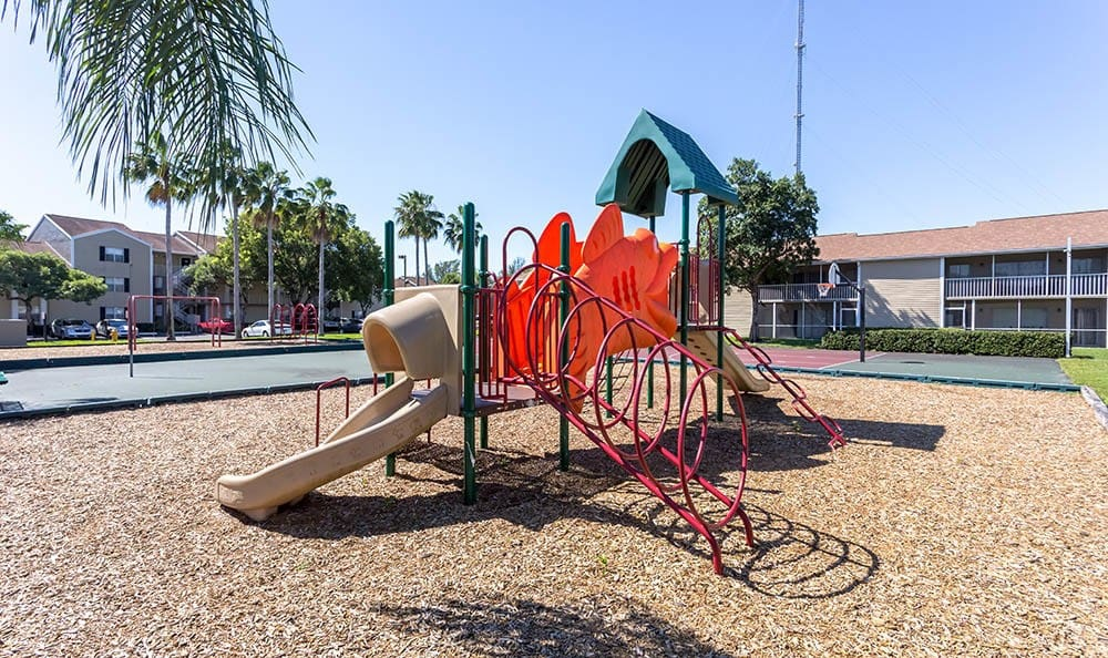 Playground at apartments in Miami