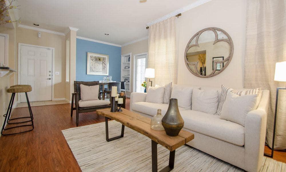 Sugar Land Apartments Cozy Living Room