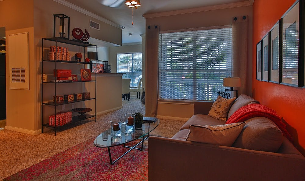 Our model apartment homes here at Advenir At Stone Park provide excellent ideas for furnishing your new living space at our luxury community in Houston