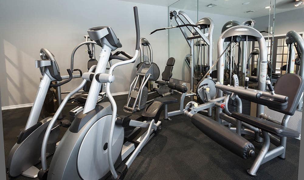 fitness center at Advenir at Prestonwood