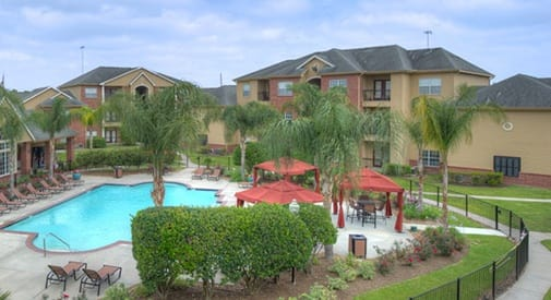 Our apartments in Houston are near everything you need...including the on-site swimming pool!