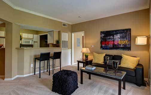 Houston apartments at Advenir at The Med Center are beautifully appointed with luxury amenities