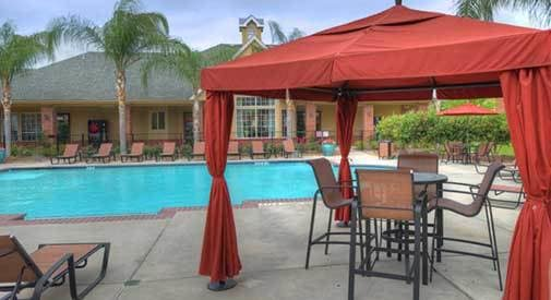 We have various apartment and community features at our Houston location