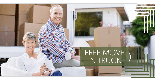 Visit our Free Move-in Truck page at Magellan Storage