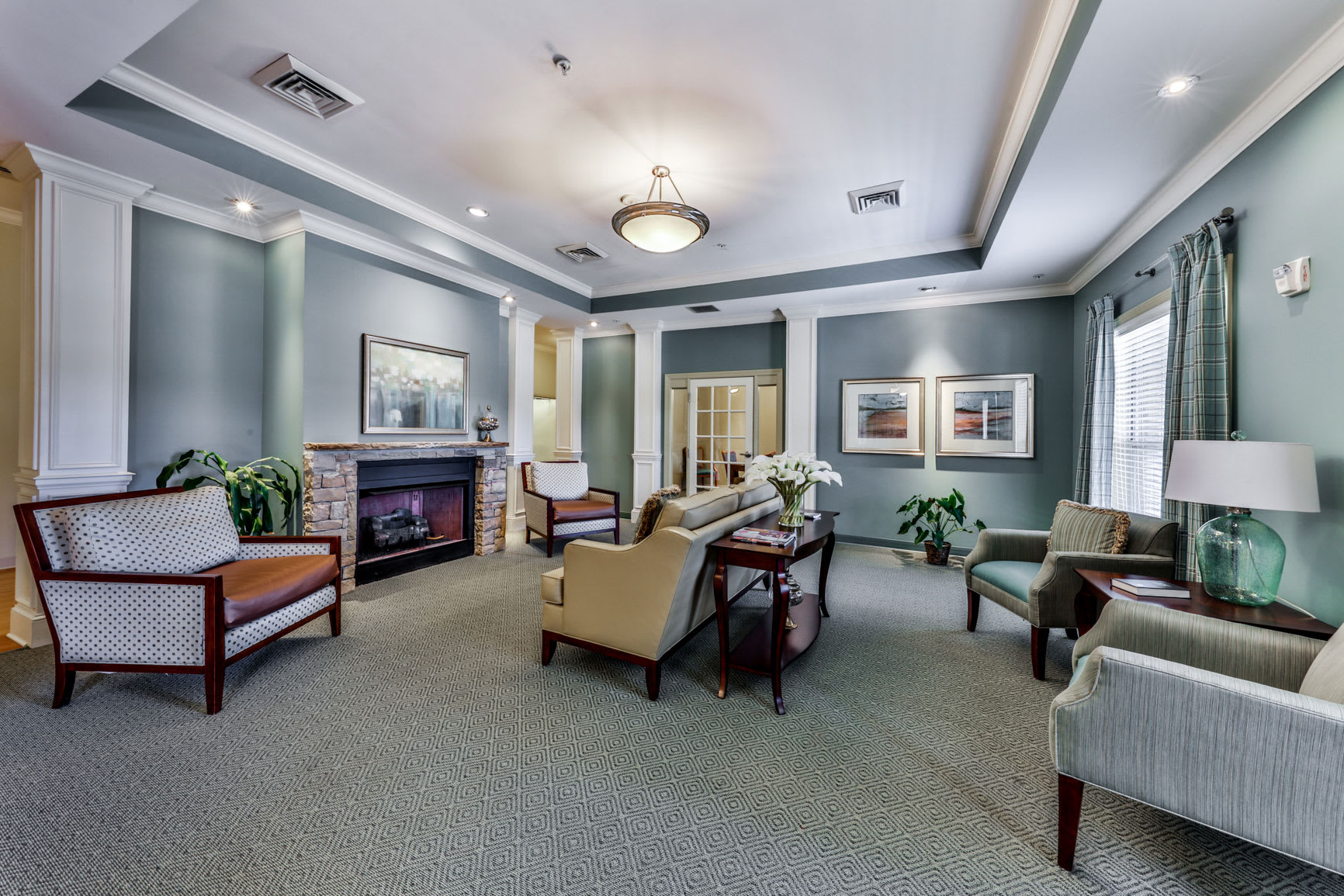 Lounge at Hope Center Memory Care in Fayetteville