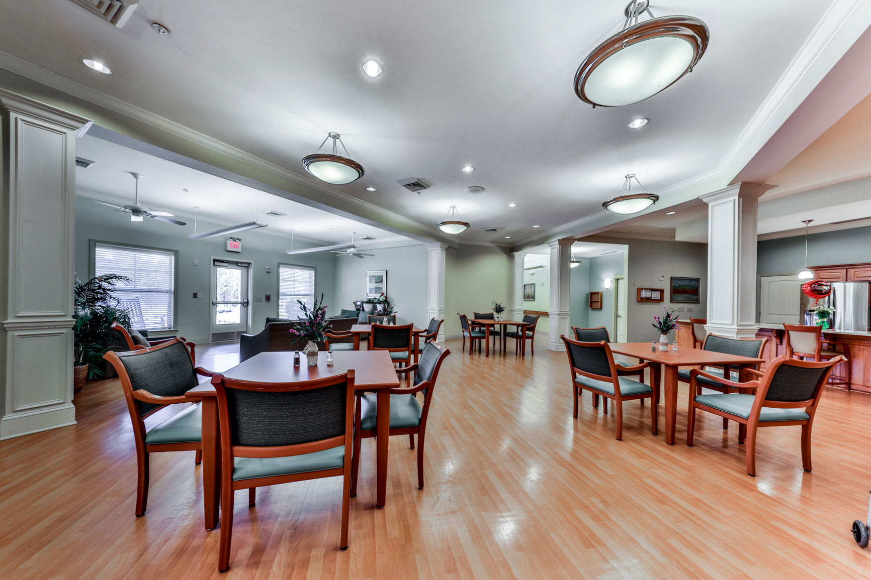 Dining area at Hope Center Memory Care in Fayetteville