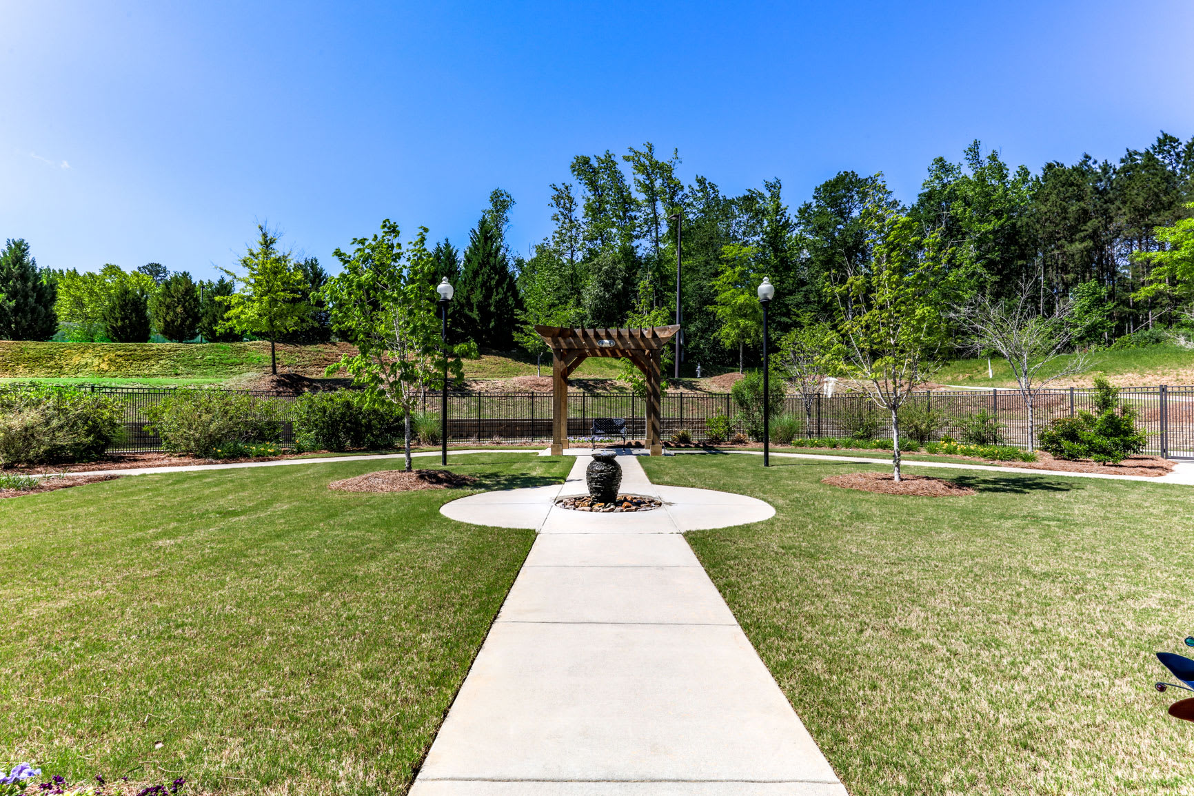 Outdoors at Hope Center Memory Care in Fayetteville
