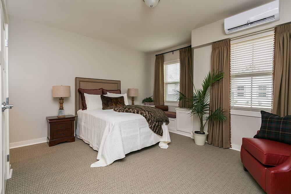 Westminster Memory Care model bedroom