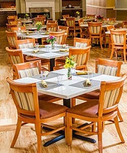 Dining room at The Phoenix at Braselton in Flowery Branch, GA