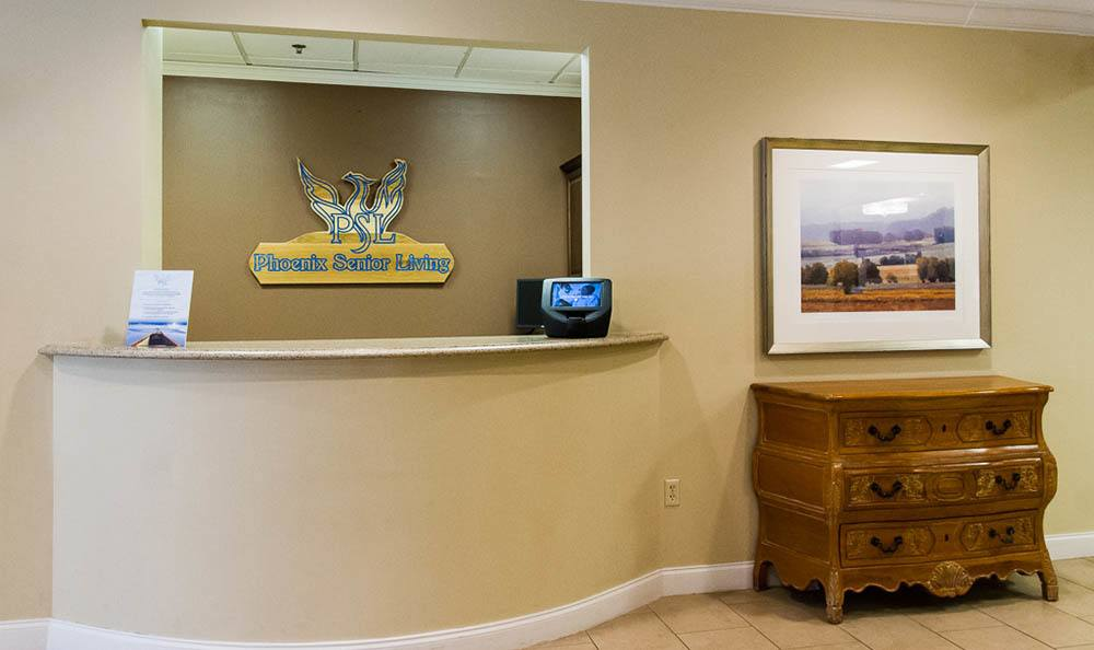 The Phoenix at Dunwoody  reception desk