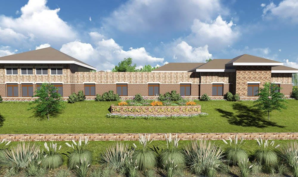 Forth rendering of senior living in Midlothian, VA