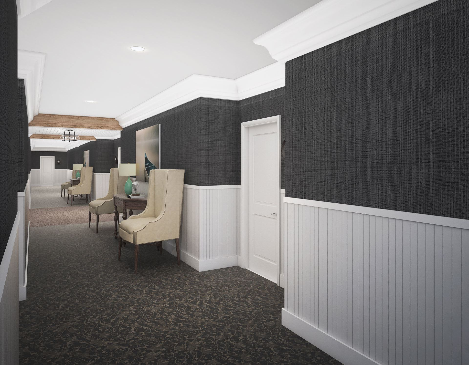Corridor Render The Phoenix at James Creek