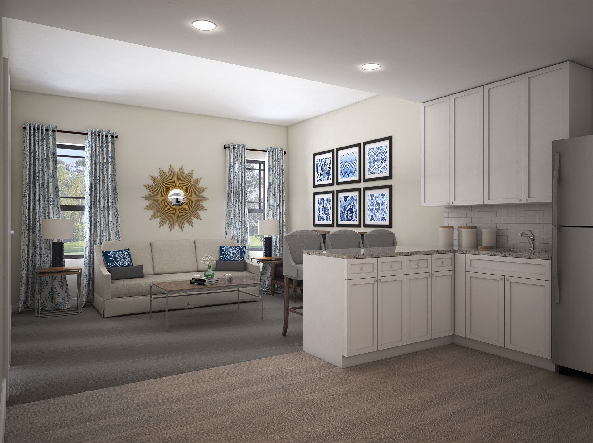 Apartment Render The Phoenix at James Creek
