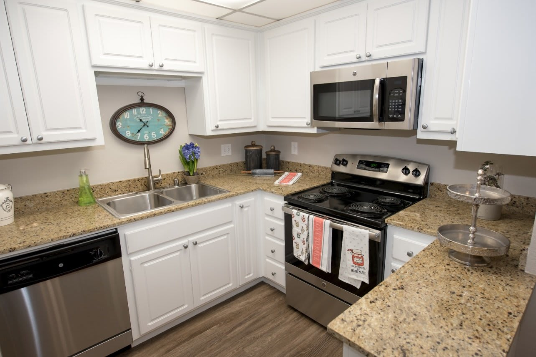 Kitchen Our Apartments In Santa Clara