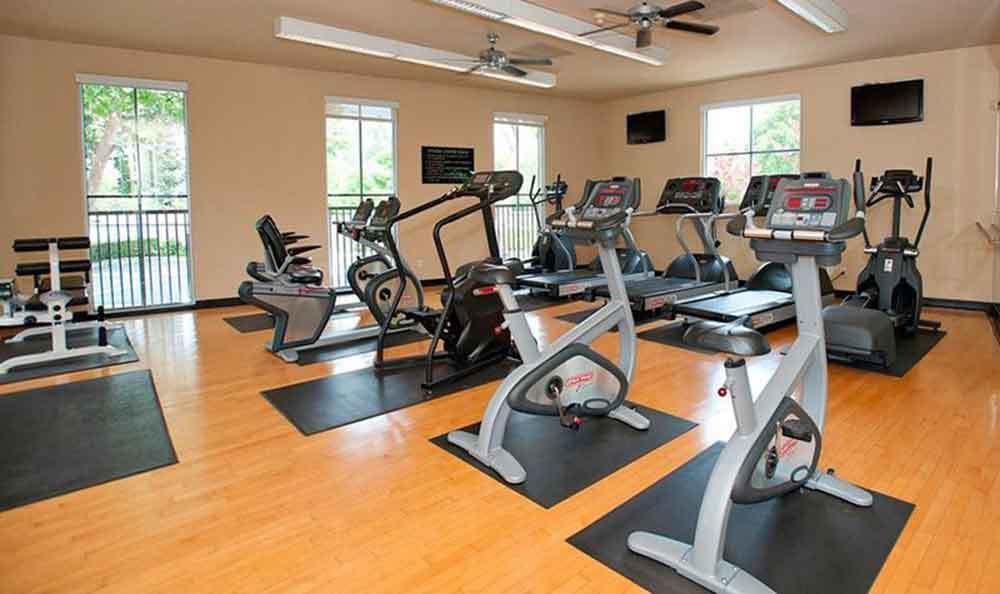Gym At Our Apartments In Santa Clara
