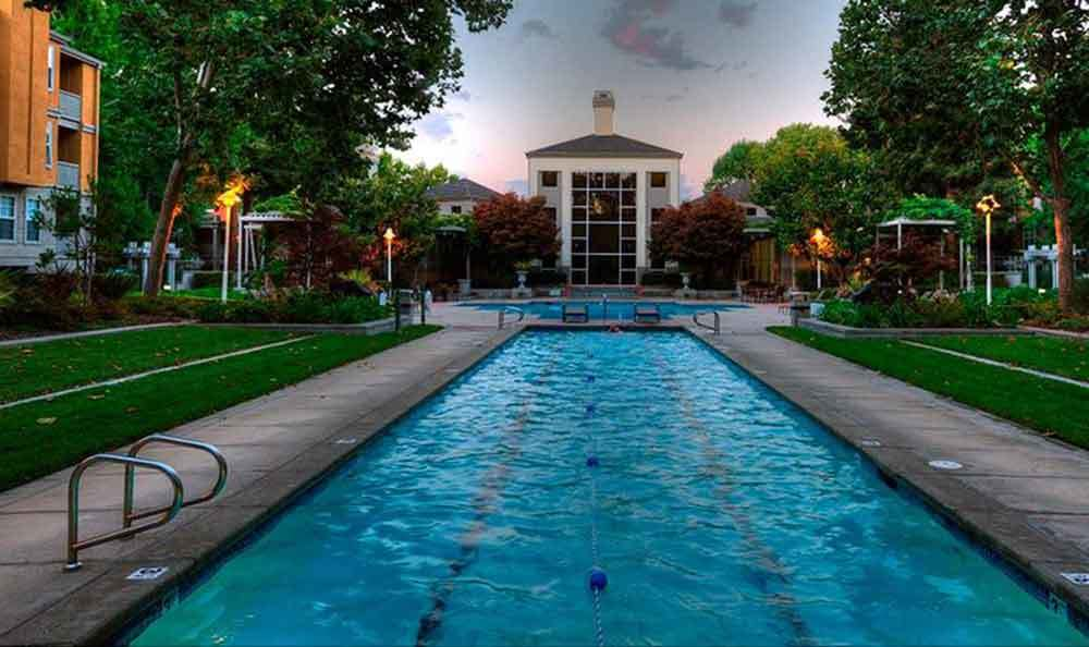 Pool At Our Apartments In Santa Clara