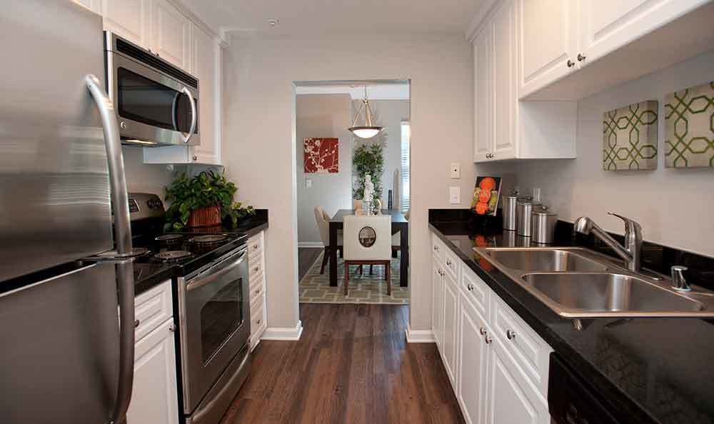 Kitchen at Nantucket Apartments