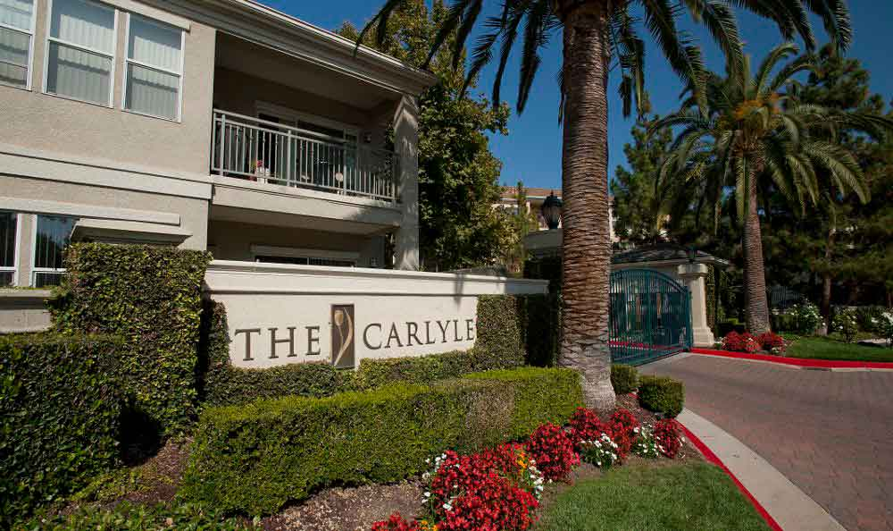 Entrance At Apartments In Santa Clara