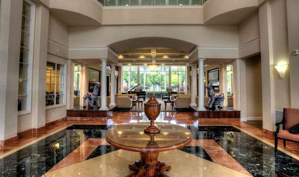 Gorgeous Hall At Apartments In Santa Clara