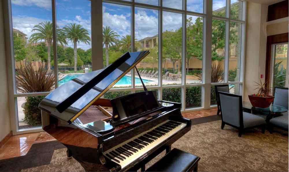 Piano At Apartments In Santa Clara