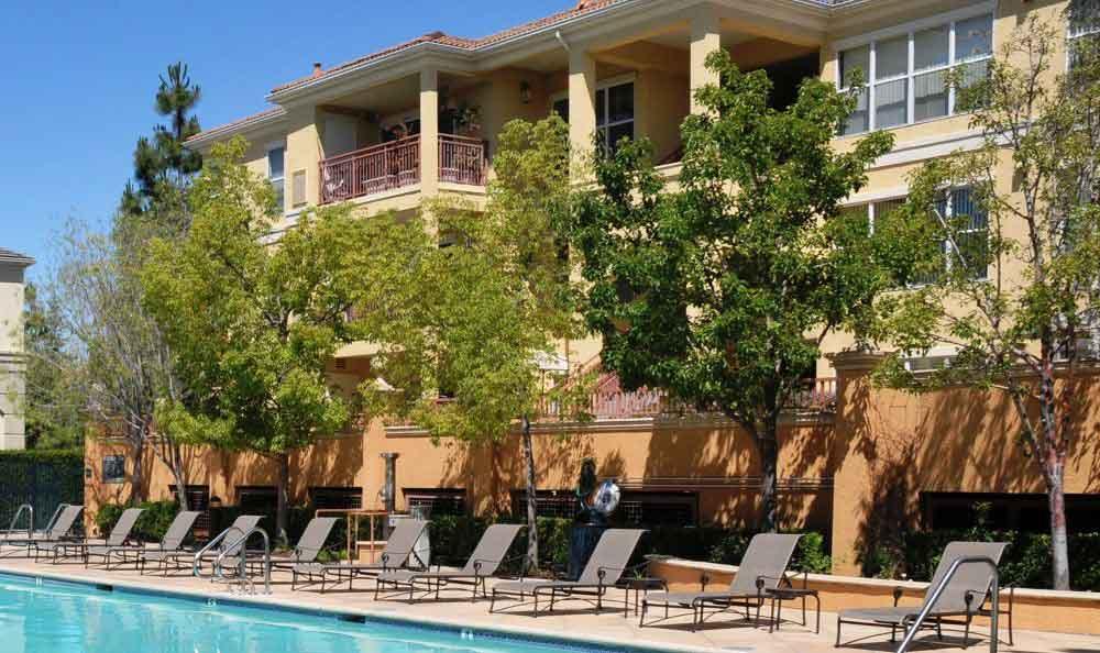 Sundecks At Apartments In Santa Clara