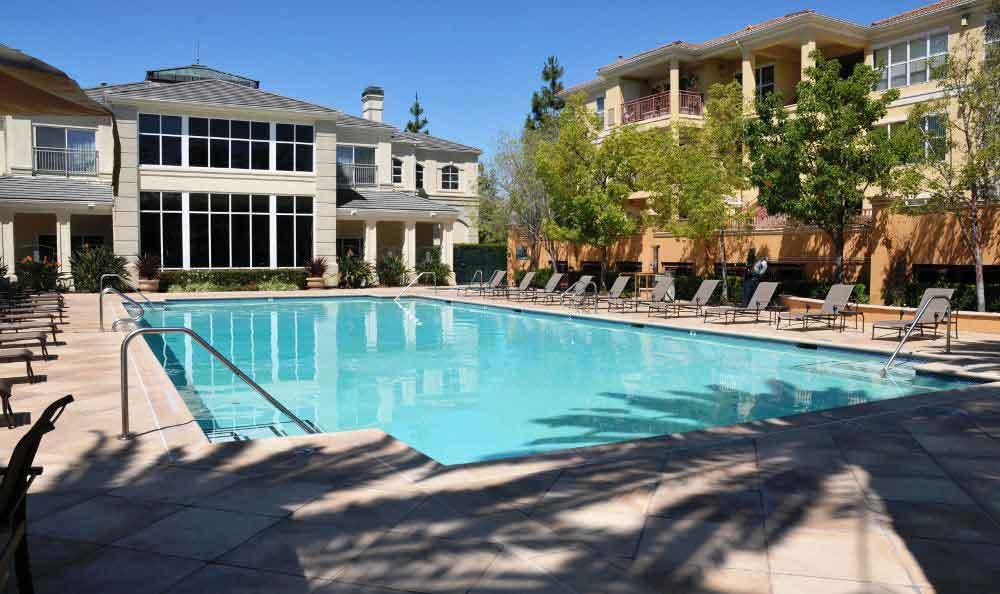 Swimming Pool Hall At Apartments In Santa Clara