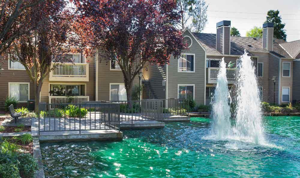 Beautiful Fountain At Our San Ramon Apartments