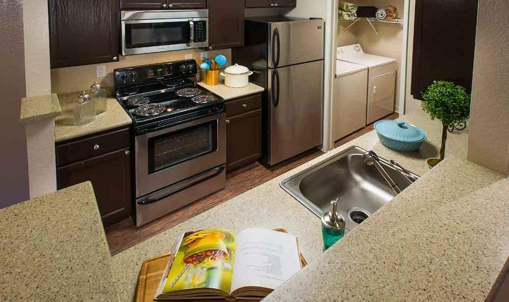 Kitchen At Our San Ramon Apartments