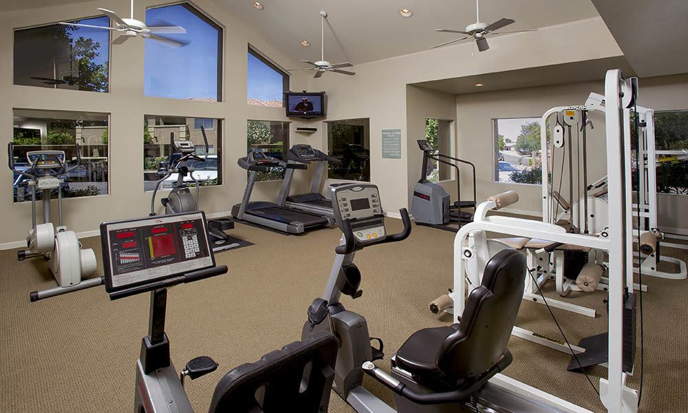 Fitness Center at Village at Lindsay Park in Mesa, AZ