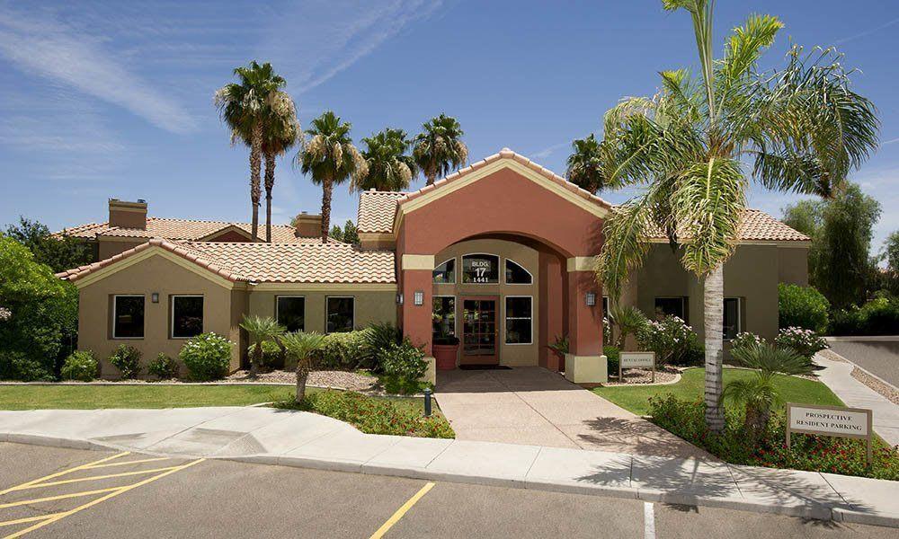 Leasing Office at Village at Lindsay Park in Mesa, AZ