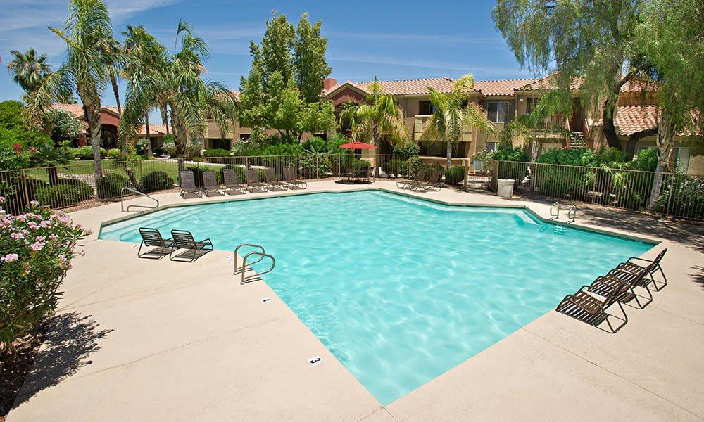 Swimming Pool at Village at Lindsay Park in Mesa, AZ