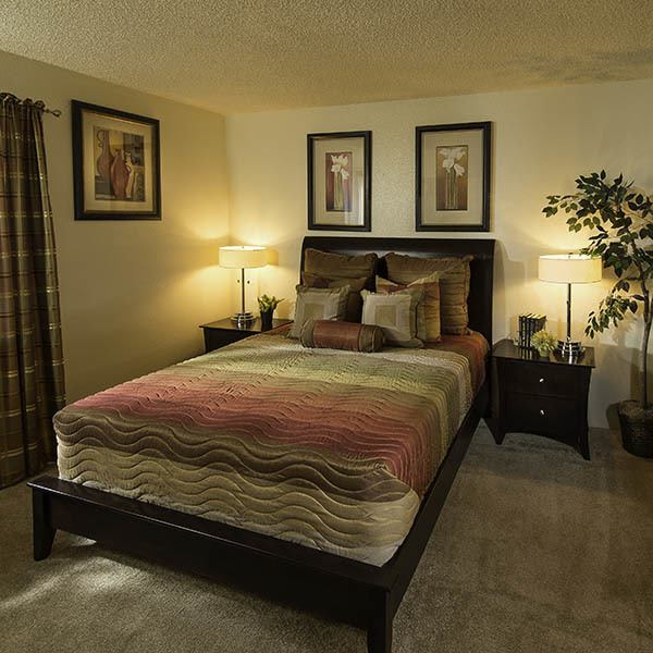 Bedroom at Willow Creek Apartments