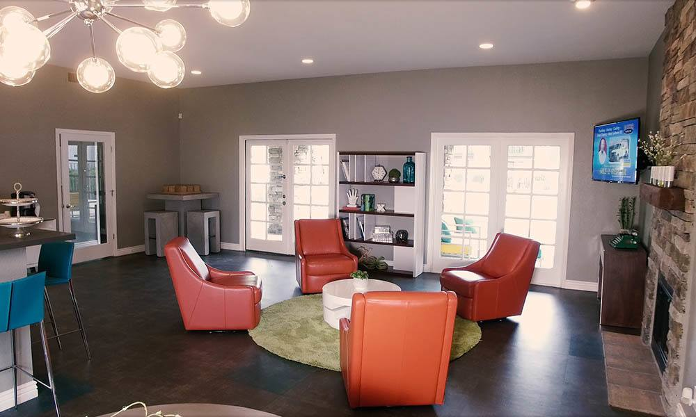 Clubhouse Interior at Willow Creek Apartments in Tempe, AZ