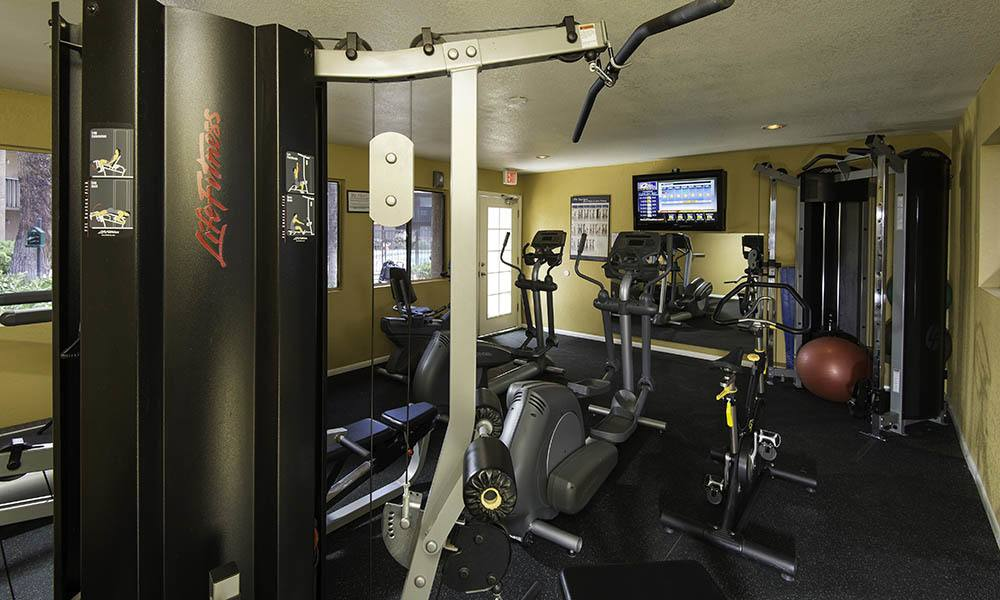 Fitness Center at Willow Creek Apartments in Tempe, AZ