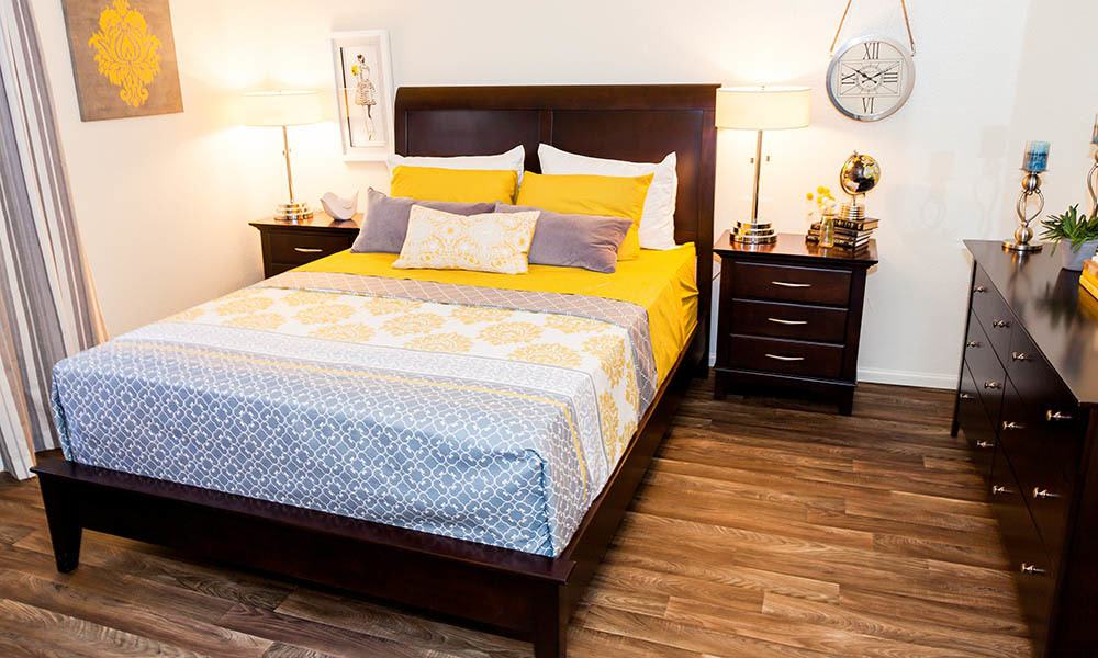 Spacious Bedroom at Willow Creek Apartments in Tempe, AZ