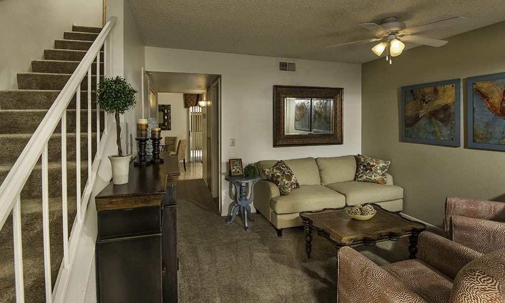 Spacious Living Room At Chandler Court Apartments In Chandler Az Part 62