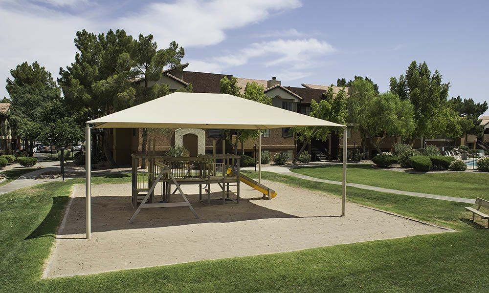 Covered Playground at Vista Montana in Gilbert, AZ