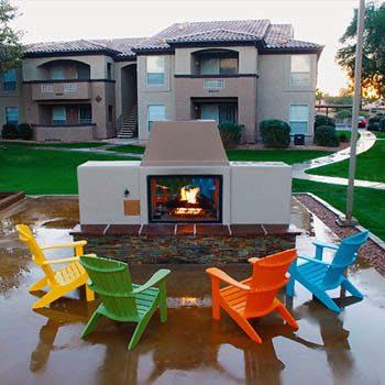 Enjoy the community amenities at Ocotillo Bay Apartments