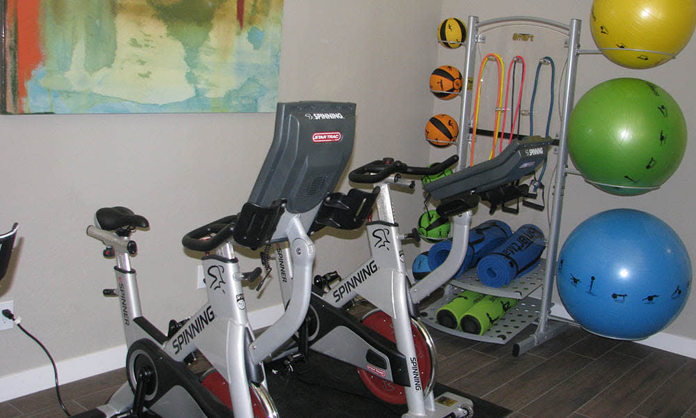 Fitness Equipment at Ocotillo Bay Apartments in Chandler, AZ
