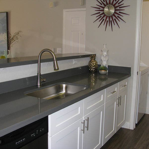 Kitchen Counter at Ocotillo Bay Apartments