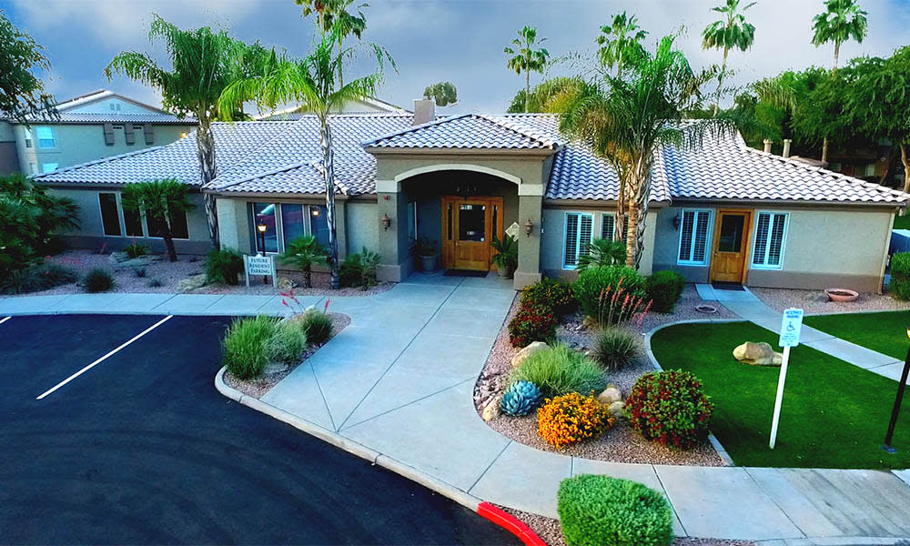Leasing Office at Ocotillo Bay Apartments in Chandler, AZ