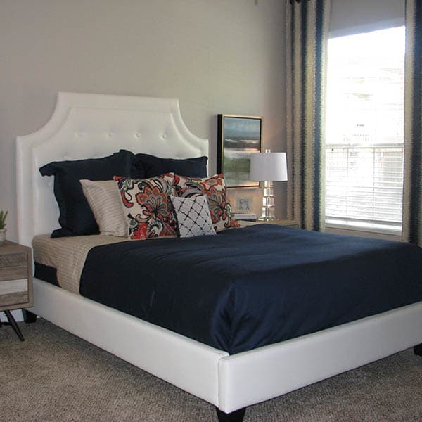 Master Bedroom at Ocotillo Bay Apartments
